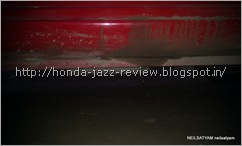 Honda Jazz ground clearance