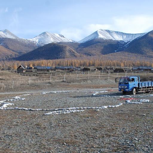 Xinjiang, Baihaba - Tracé Chine