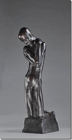 Georges Minne - Agenouillé à la fontain