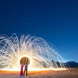 This Is How I Feel by Yansen Setiawan - Wedding Other ( creative, lightworks, art, losangeles, illusion, nightshoot, fire, love, fineart, yansensetiawanphotography, prewedding, d800, wedding, lifestyle, la, photographer, yansensetiawan, nikon, yansen, engagement )