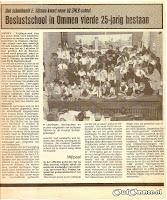 Boslustschool in Ommen vierde 25-jarig bestaan