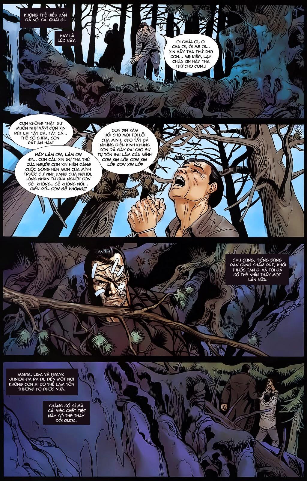 The Punisher: Trên là Dưới & Trắng là Đen chap 6 - Trang 22
