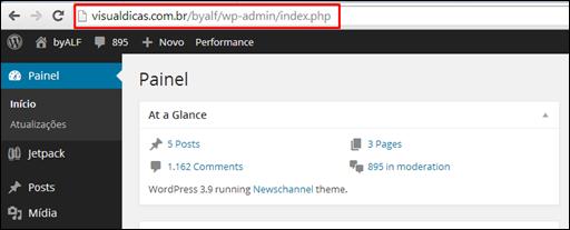 Plugin Syntax Highlighter para o WordPress