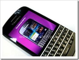 12 Основные жесты на BlackBerry Q10