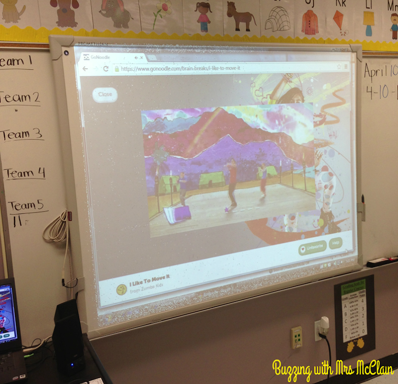 go noodle in my classroom_buzzingwithmrsmcclain