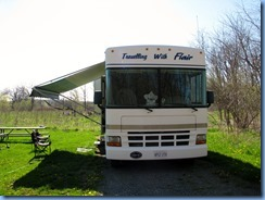 IMG_4326 Bronte Creek Provincial Park our motorhome in our campsite #219