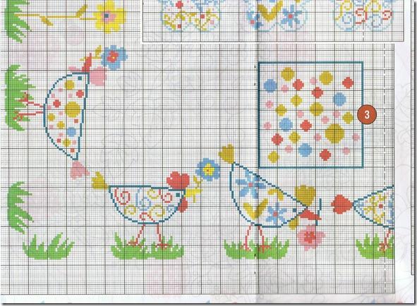 graficos-ponto cruz-esquemas-galinhas
