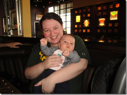 2.  Lunch with Aunt Lyndsie