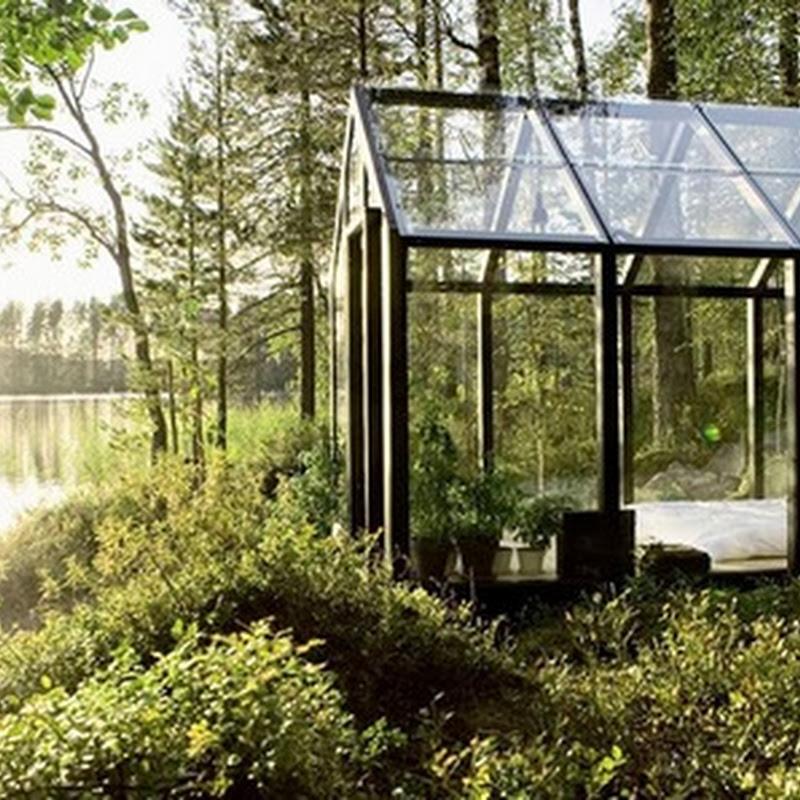 10 STUNNING GLASS HOUSES