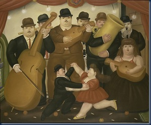Bailando en Colombia 1980 F Botero