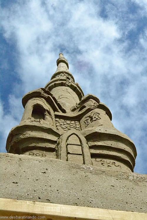 castelo de areia maior do mundo guinnes world book desbaratinando (9)