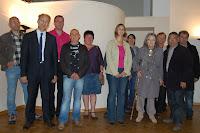 2012 - accueil des nouveaux habitants suivi du traditionnel vin d'honneur.