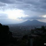 Naples et le Vésuve