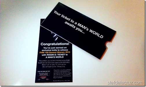 FHM 100 Sexiest Women tickets