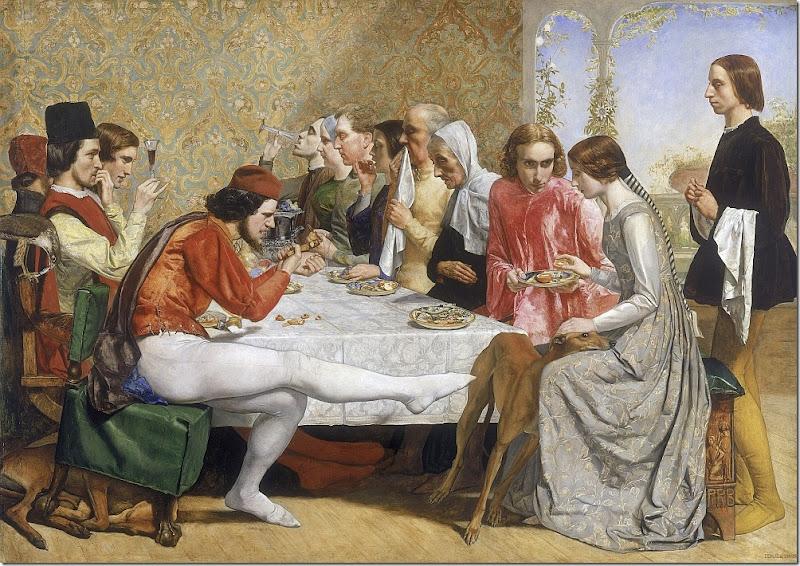 millais - lorenzo i isabela 1849