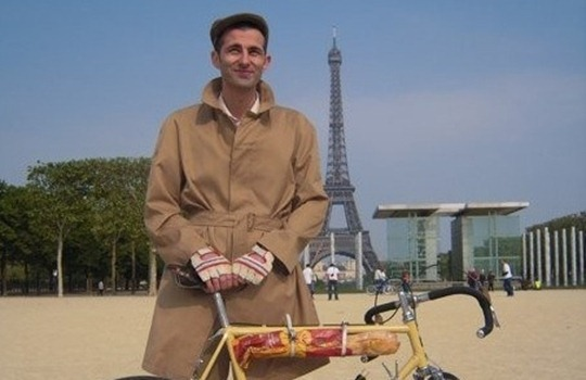 Eiffel Tower bicycle
