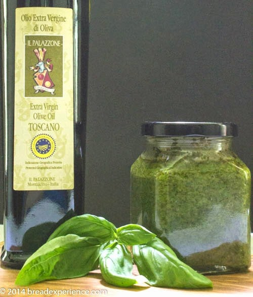 Fresh Basil and Olive Oil