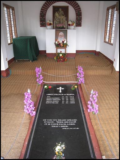 Abbott Francis Acharya's Tomb