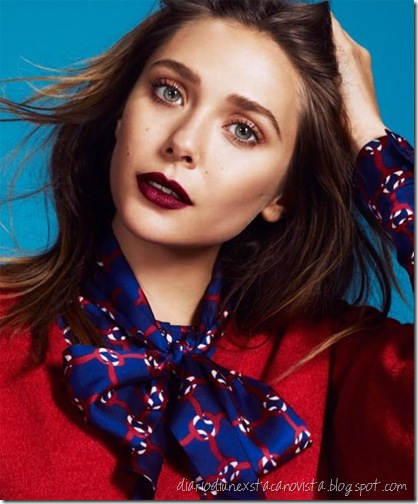 Elizabeth Olsen photographed by Andrew Yee for The Guardian, September 2012