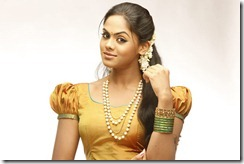 karthika as village girl