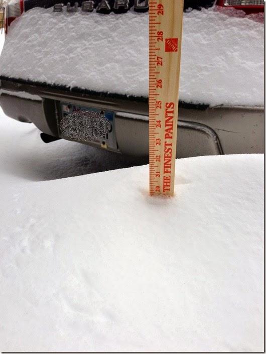 snowdrift driveway