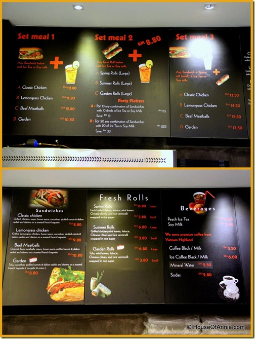 Quick Bites Menu