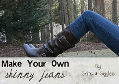 make your own skinny jeans