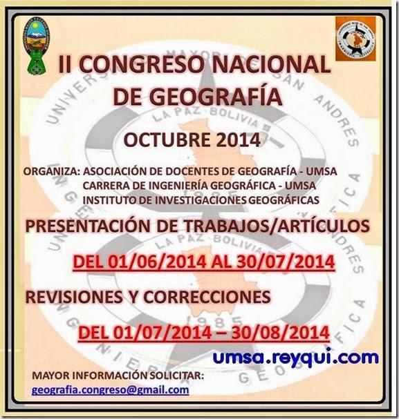Congresos en la UMSA