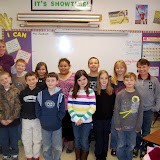 WBFJ Cici's Pizza Pledge - Pleasant Garden Elementary - Ms. Landreth's 3rd Grade Class - 3-27-13