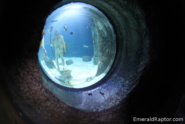 Atlantis legoland aquarium