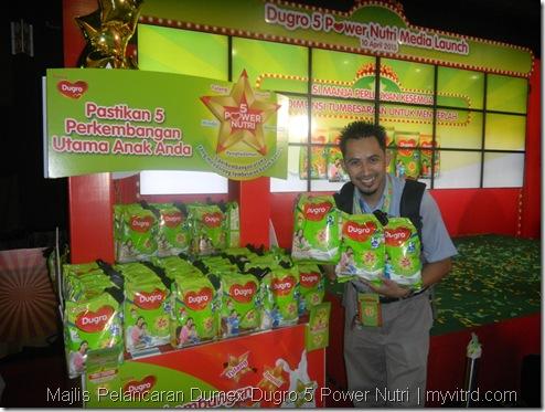 Majlis Pelancaran Dumex Dugro 5 Power Nutri 10