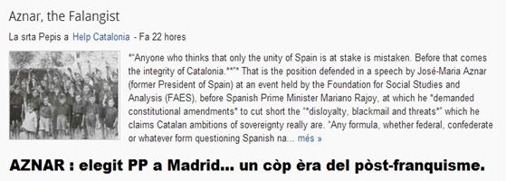 Aznar Post-franquisme