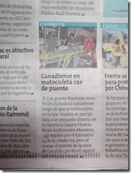 Correo Newspaper clip