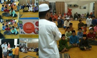View Majlis Sambutan Birthday Al Ulum JAN-JUN 2011