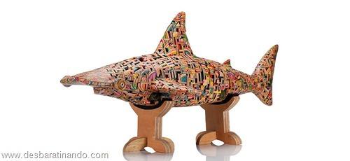 arte esculturas com skate reciclado desbaratinando  (21)