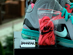 nike lebron 9 ps elite grey candy pink 7 08 LeBron 9 P.S. Elite Miami Vice Official Images & Release Date