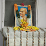 Mahatma Gandhi death anniversary at MNR Scottsdale Kukatpally