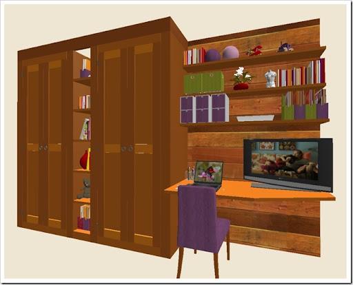 Baccon group camera doppia in baita u armadi e libreria