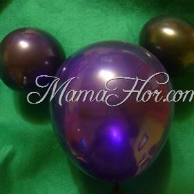 Como hacer un Mickey Mouse de globos