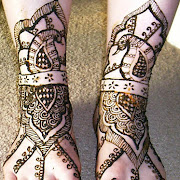 Bridal feet with peacock.JPG