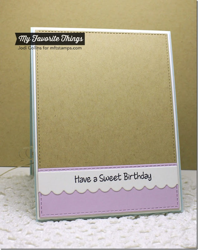 JULY MFT Sweet Birthday Wishes Inside
