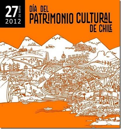 Afiche Patromonio cultural de Chile