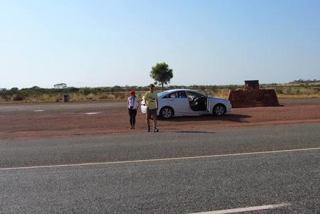 Alice Springs - masina noastra de desert