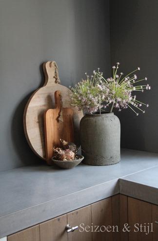 Seizoen stijl een warm welkom - Decoratie kleine keuken ...