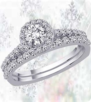 The Diamond Desire Engagement Ring With Matching Wedding Band3