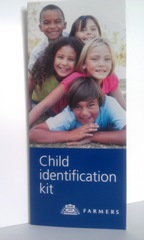 Child I.D. Fingerprint kit