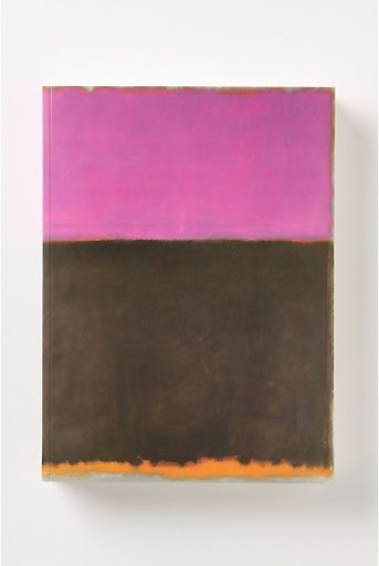 Endless inspiration -- Mark Rothko art book. (anthropologie.com)