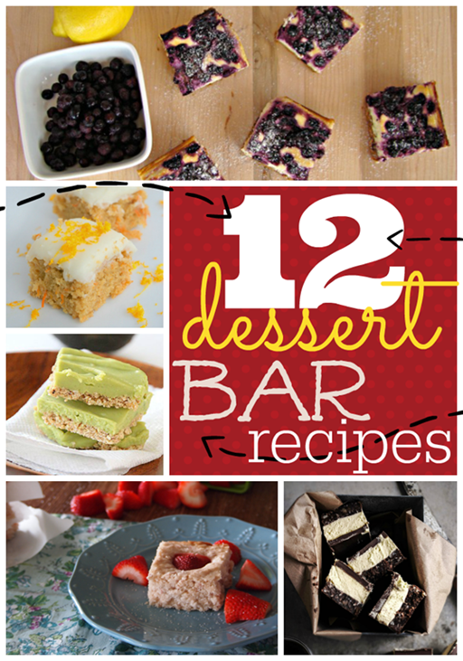 12 Dessert Bar Recipes at GingerSnapCrafts.com #linkparty #features #dessert #recipes_thumb[1]