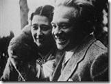 Elsa and Ottorino Respighi in the 1920s