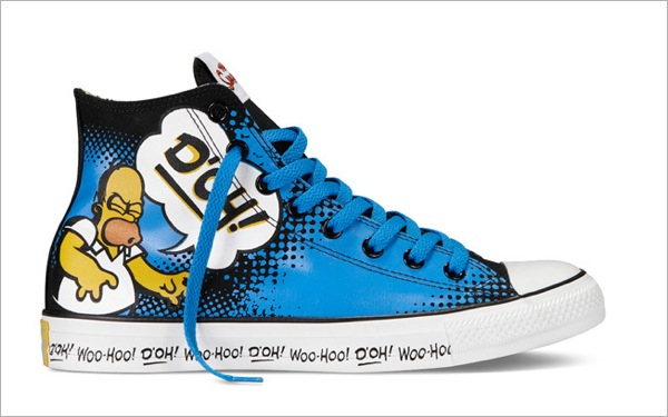 Simpsons Sneakers converse 1